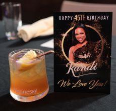 Kandi Burruss Private Birthday Dinner
