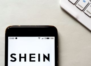 Shein Logo On An IPhone Screen