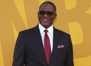 Dominique Wilkins at the 2017 NBA Awards