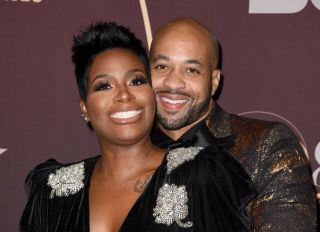 Fantasia Barrino and Kendall Taylor at a Musical Celebration For Quincy Jones