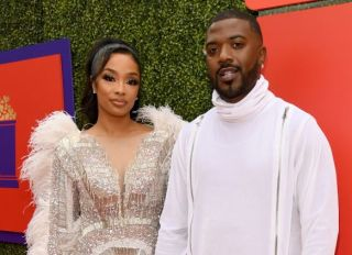 Ray J and Princess Love at the 2021 MTV Movie & TV Awards: UNSCRIPTED