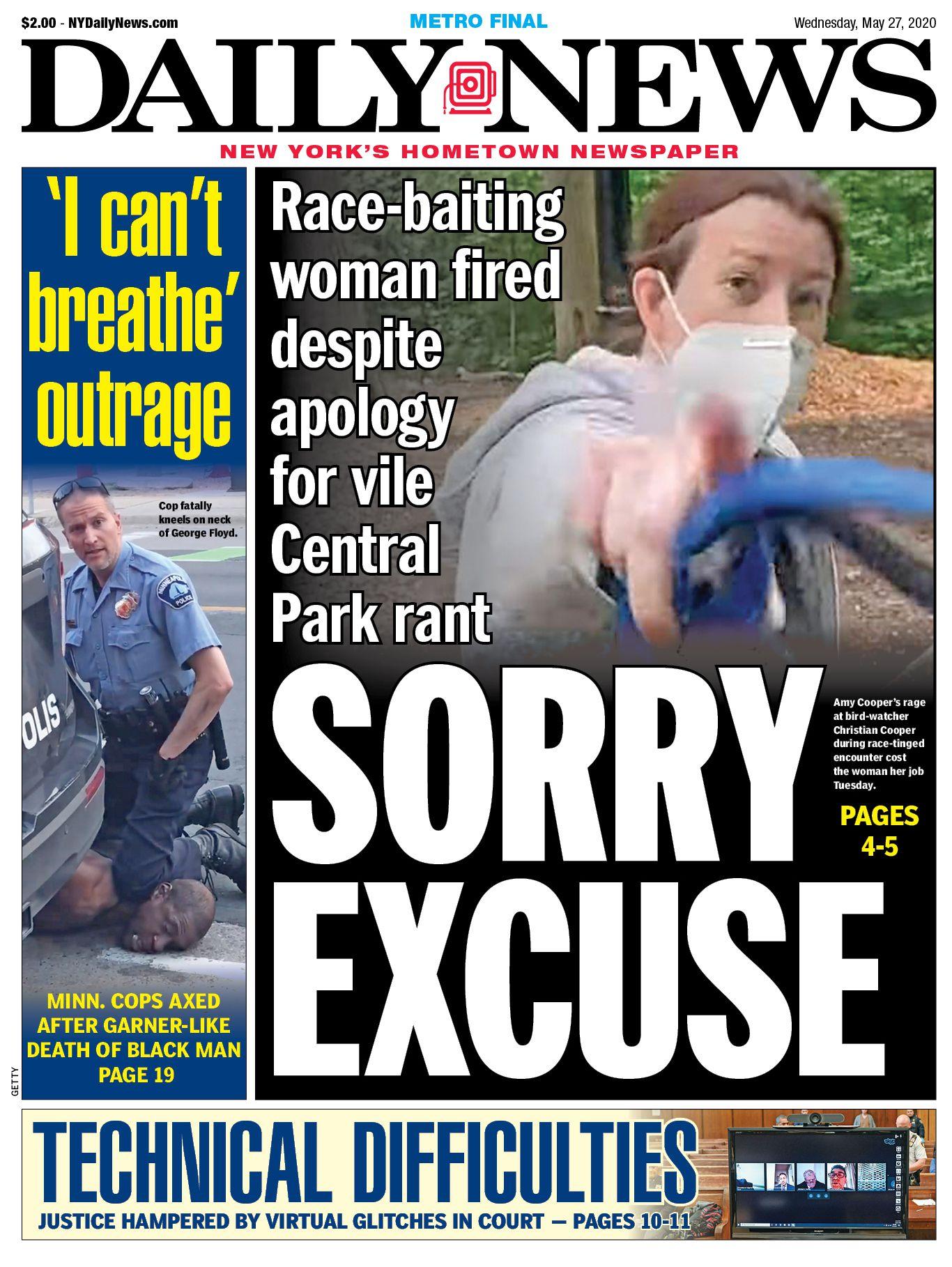 US-NEWS-NY-PARK-CONFRONTATION-NY