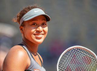 Naomi Osaka at the French Open