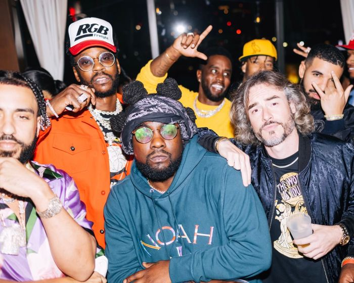 Private Diddy party in LA