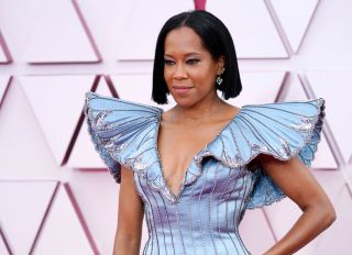 Regina King at the 93rd Annual Academy Awards
