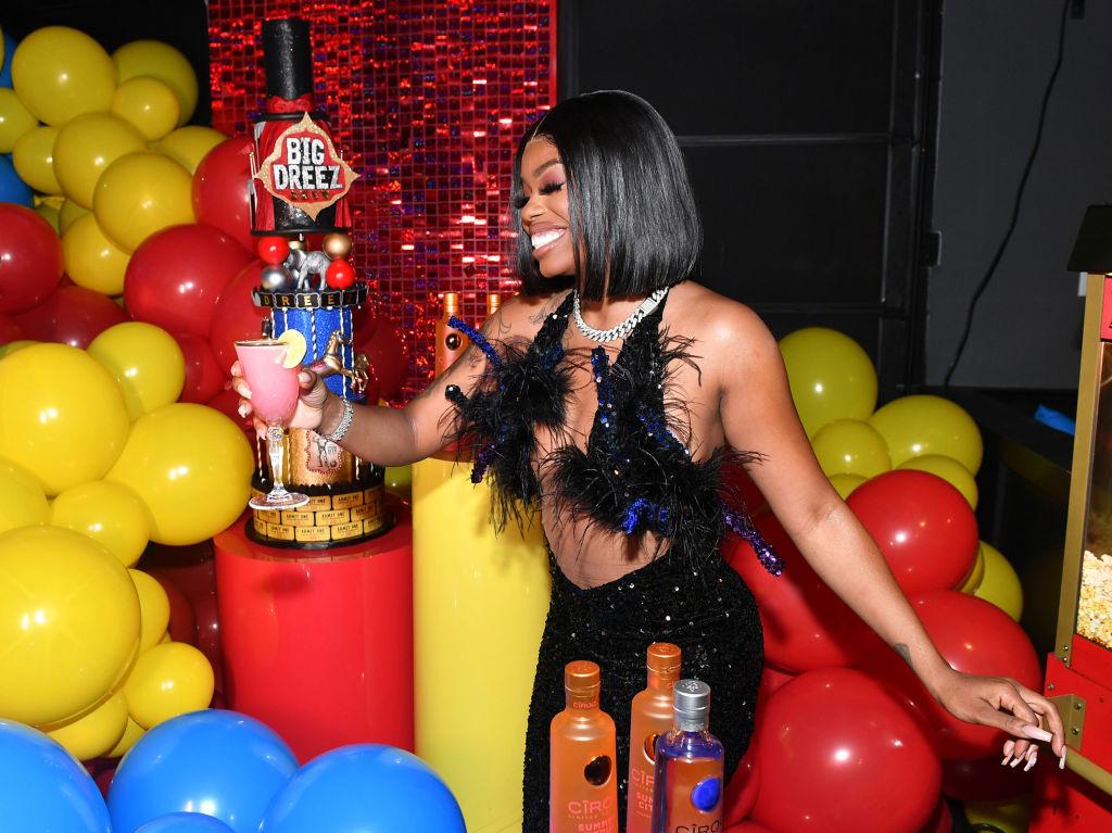 Rapper Dreezy Celebrates Her Birthday With CÎROC Summer Citrus And Friends In Atlanta