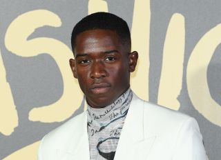Damson Idris at the Red Carpet Arrivals - Fashion For Relief London 2019