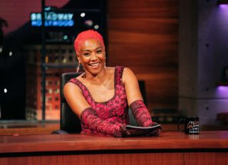 Tiffany Haddish on The Late Late Show with James Corden...
