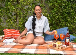 Tia Mowry summer guide assets