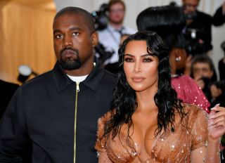 Kim and Kanye at The 2019 Met Gala Celebrating Camp: Notes on Fashion - Arrivals