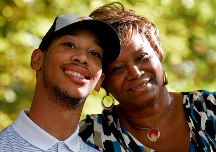 Ex-Carolina Panther Rae Carruth won't ever get custody of son he wanted dead, grandma says