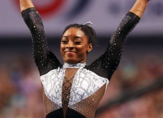 Simone Biles at the 2021 U.S. Gymnastics Championships - Day 4