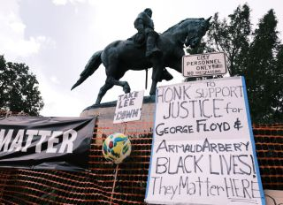 """""""Reclaim the Park"""" Gathering Held In Charlottesville On Third Anniversary Of Violent Far-Right Rally"""