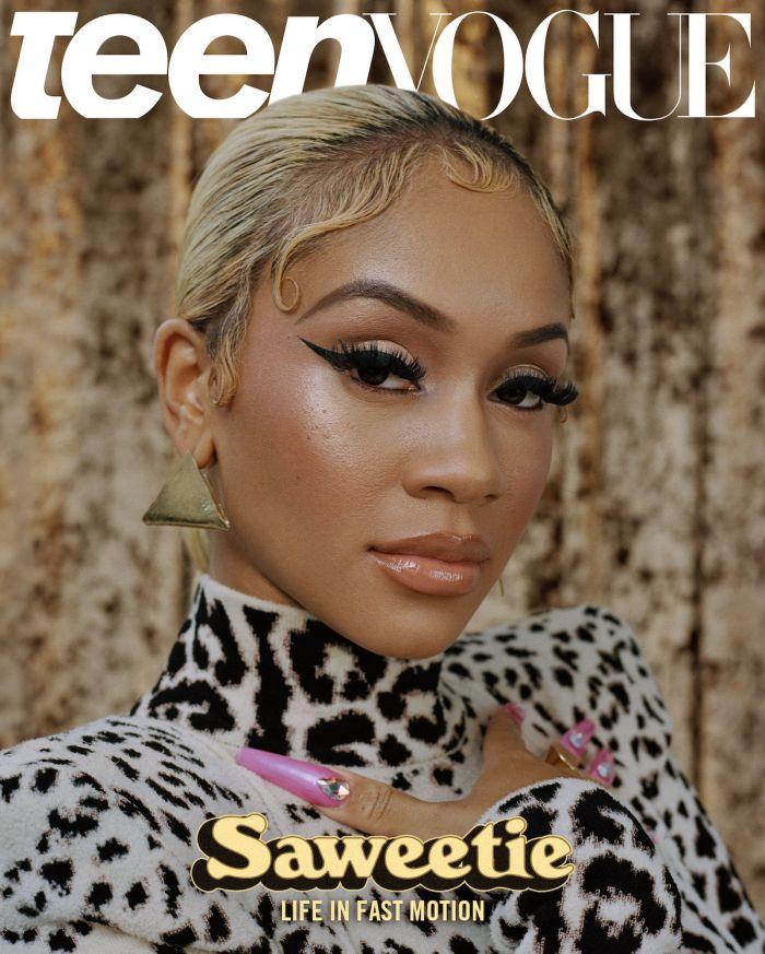 Saweetie Teen Vogue June Issue