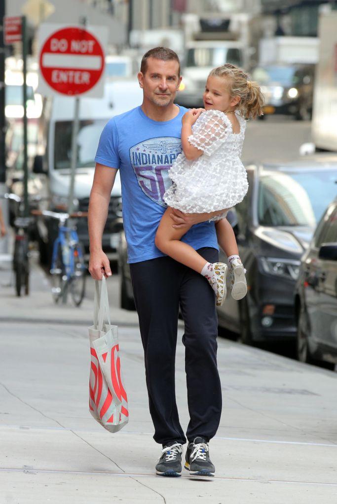 Bradley Cooper and Lea Cooper