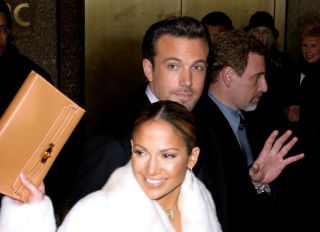 Jennifer Lopez and Ben Affleck at the Maid in Manhattan Premiere - After-Party