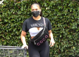 Lori Harvey Grocery Shopping