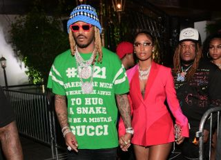 Future and Dess Dior Attend A Birthday Experience Brought To You By Gunna