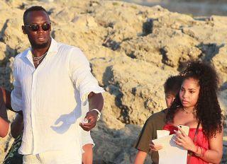Usain Bolt and Kasi Bennet