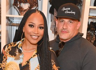 Monyetta Shaw and Heat Carter at the Saweetie x Matte Collection Launch