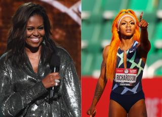Michelle Obama x Sha'Carri Richardson