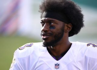 Robert Griffin III at the Ravens Vs Eagles Game