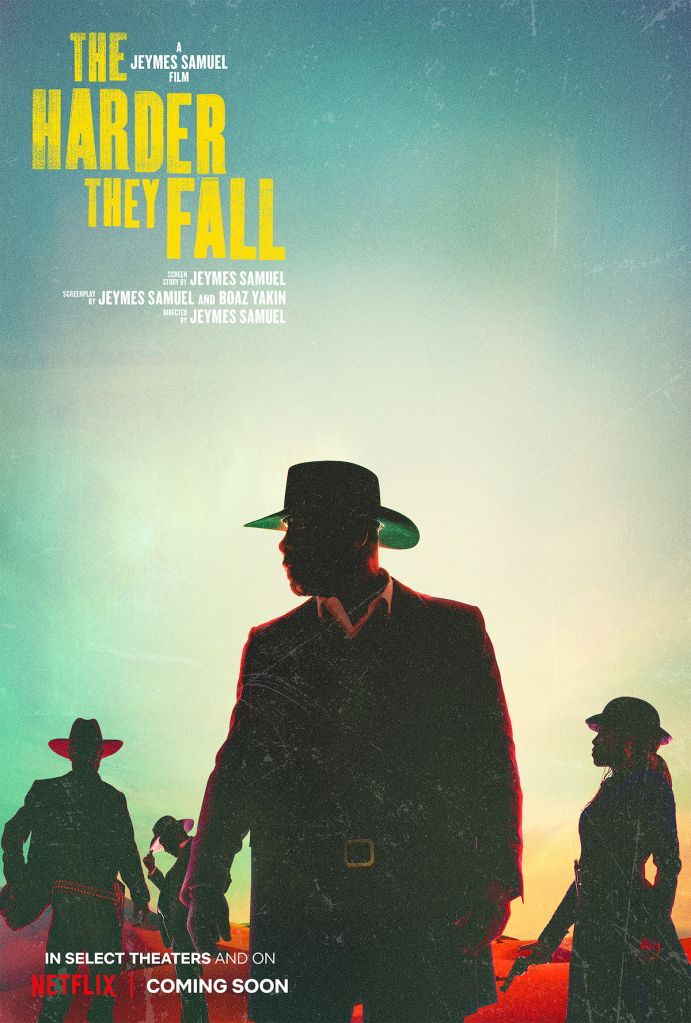 They Harder They Fall key art and production stills