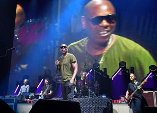 Dave Chappelle Performs at The Foo Fighters Reopen Madison Square Garden
