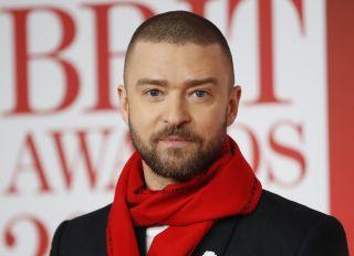 Justin Timberlake at the Brit Awards