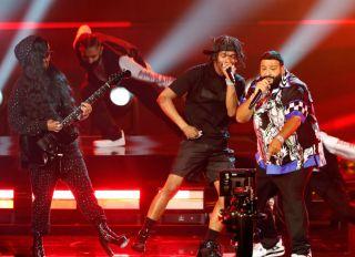 DJ Khaled performs at the BET Awards 2021 - Show