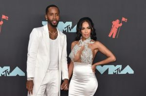 Erica Mena and Safaree at the 2019 MTV Video Music Awards - Arrivals