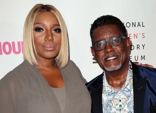 NeNe Leakes and Greg Leakes at the5th Annual Women Making History Brunch - Arrivals