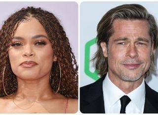 Andra Day addresses Brad Pitt rumors