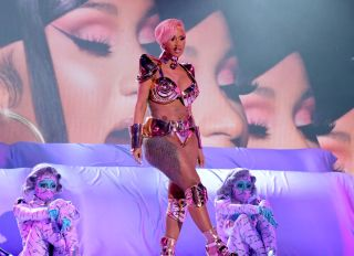 Cardi B Performs at the 63rd Annual GRAMMY Awards – Telecast