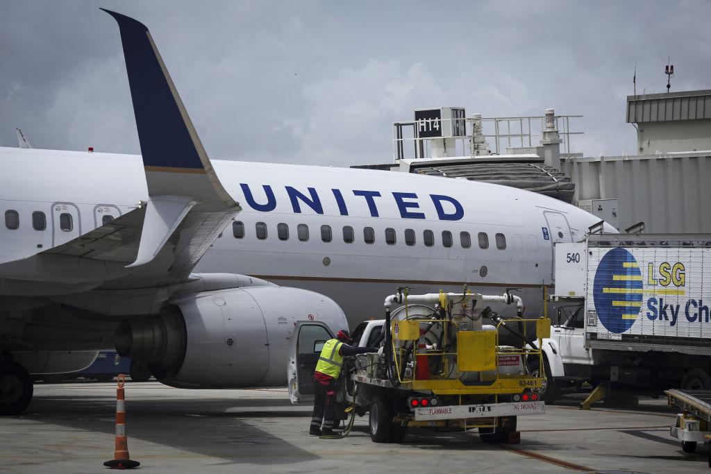 Media tour at Miami International Airport