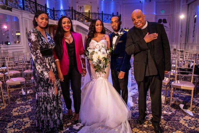 JoJo Simmons and Tanice Simmons wedding