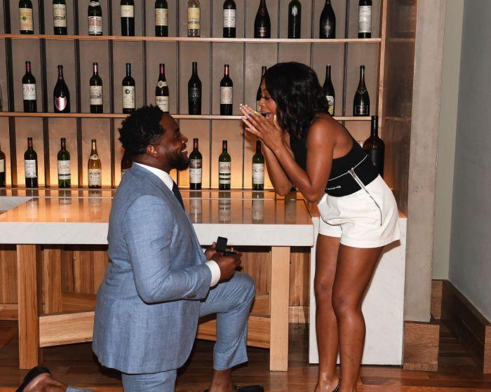 Nick Jones Jr. And Bresha Webb's Engagement Party