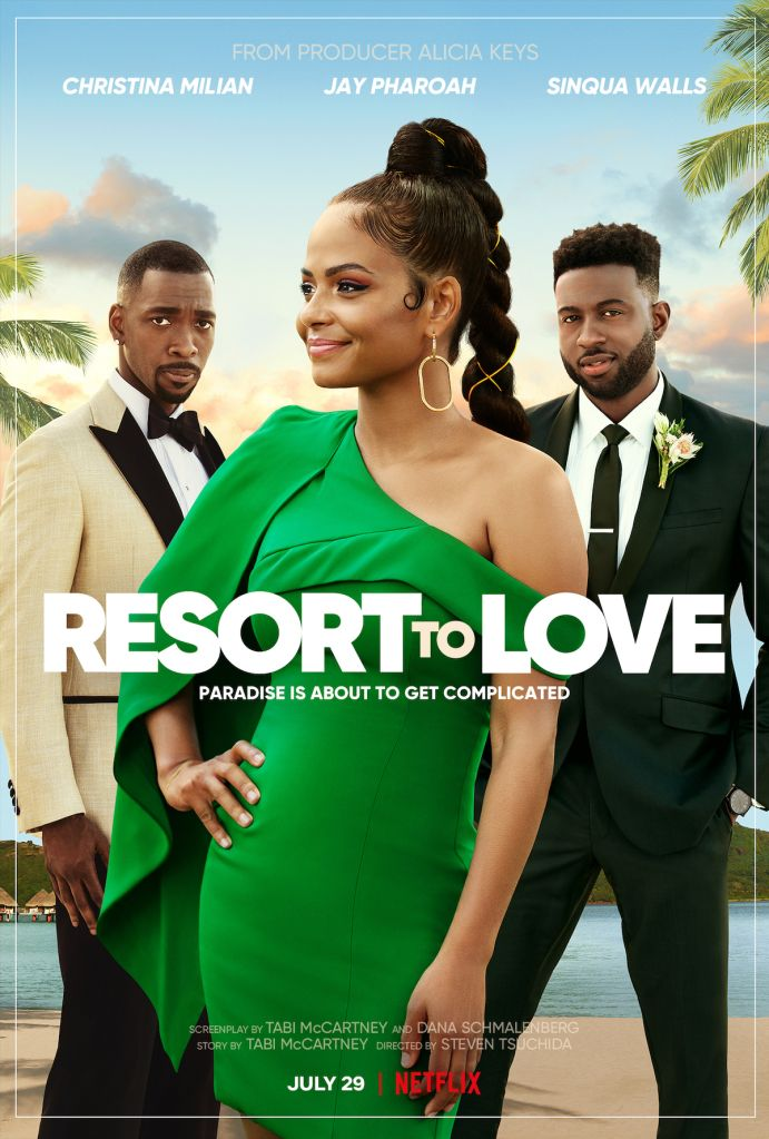 Resort To Love key art and unit photography
