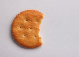 Snack, Cracker, Top Angle, Object