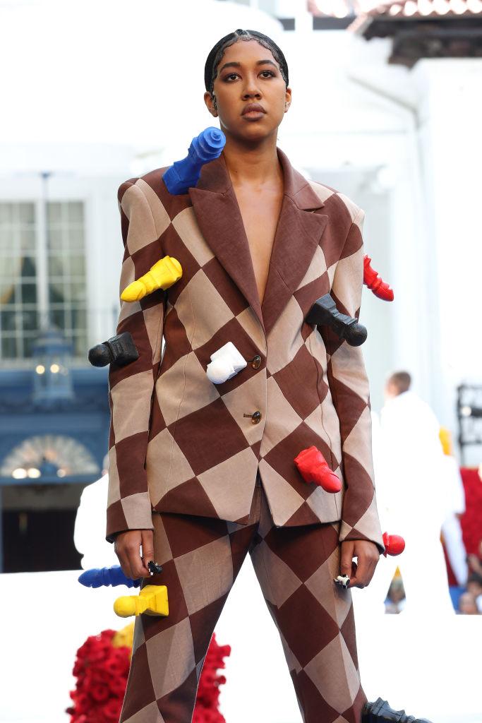 Pyer Moss Couture : Runway - Paris Fashion Week - Haute Couture Fall/Winter 2021/2022