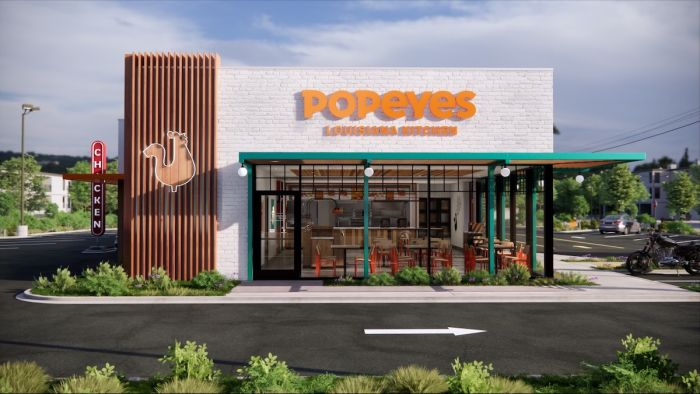 Popeyes assets for launch of new chicken nuggets