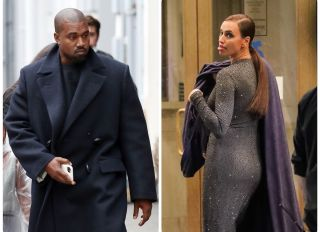 Kanye West and Irina Shayk are just friends