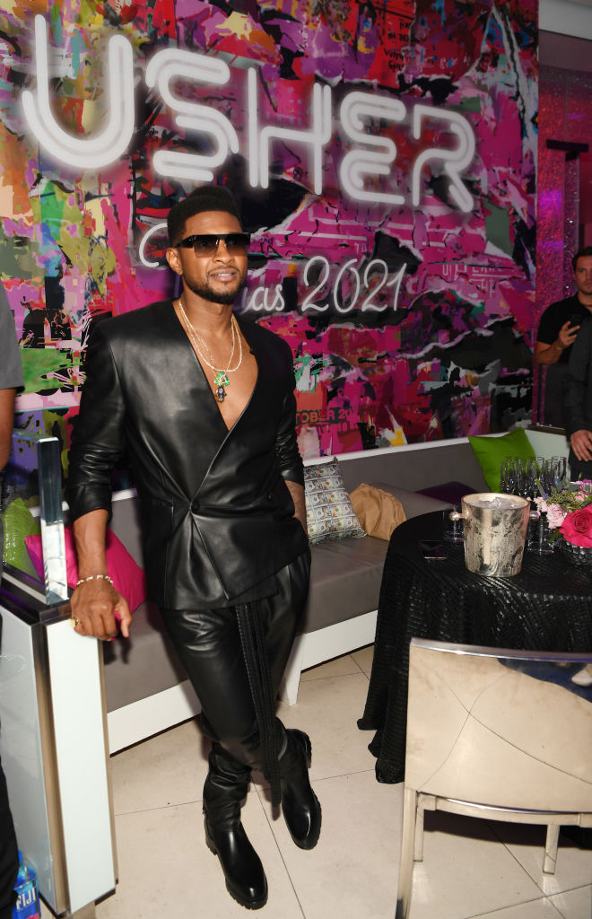 """Grand Opening Of """"USHER The Las Vegas Residency"""" At The Colosseum At Caesars Palace"""
