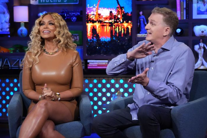 WWHL: Gizelle Bryant and Michael Rapaport
