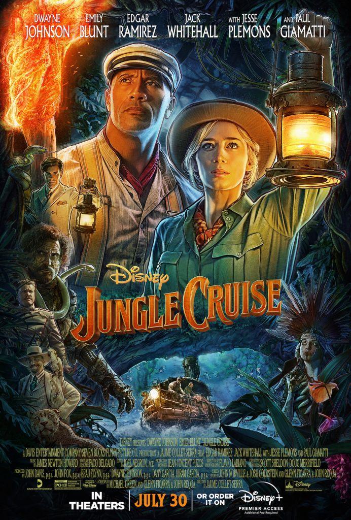 "Dwayne ""The Rock"" Johnson stars in 'Jungle Cruise'"