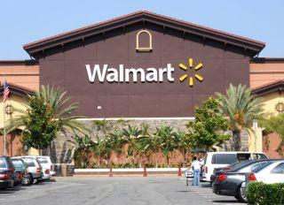 Exterior view of Walmart Store