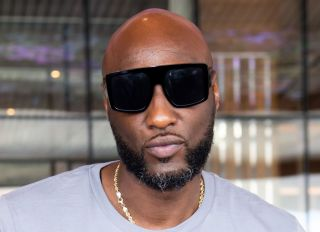 Lamar Odom Celebrity Boxing Contract Signing