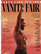 Diddy Vanity Fair Cover and feature images including daughters Jessie, Chance and D'Lila