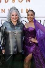 Tommy Liesl and Jennifer Hudson at the RESPECT World Premiere In Los Angeles