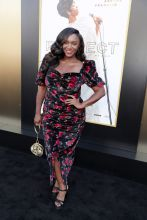 Saycon Sengbloh at the RESPECT World Premiere In Los Angeles